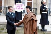 Le 4x4 furtif de Kadhafi fourni par la France