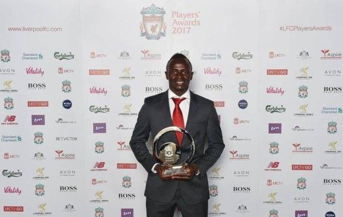 Sadio Mané nominé pour le titre de meilleur joueur de Premier league