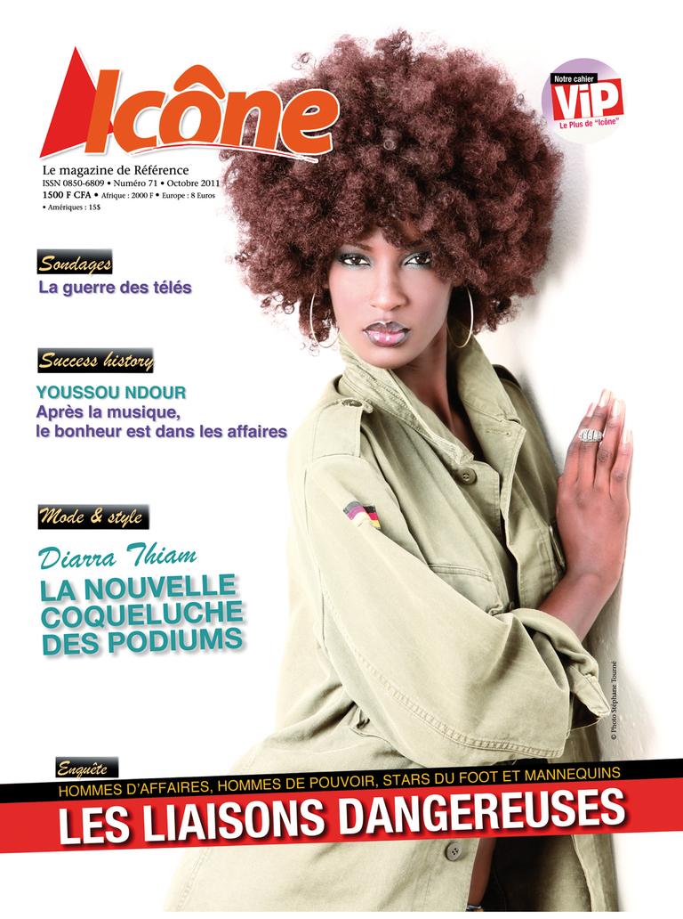 ICONE MAGAZINE EDITION N°71