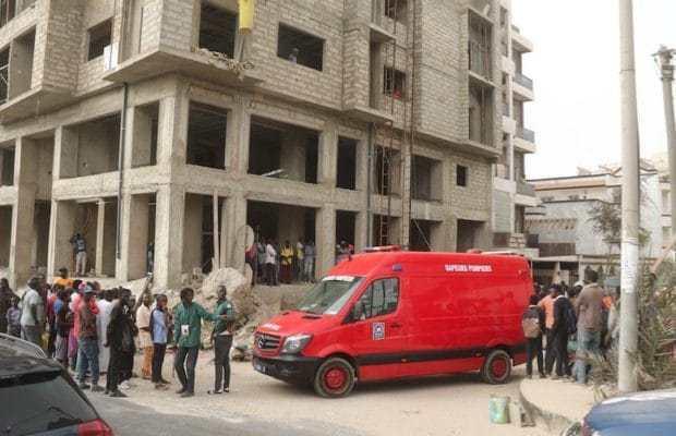 Almadies : Un ouvrier tombe du 5ème étage d'un immeuble