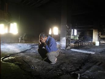 Une mosquée incendiée dans le nord d'Israël