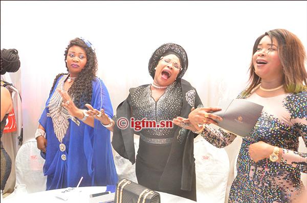 La députée Mame Diarra Fam, a ravi la vedette à la soirée de Youssou Ndour au King Fahd, avec ses pas de danse