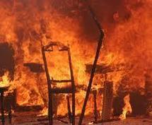 «MARABOUTE», RUINE ET LARGUE PAR SA COPINE Le tailleur brûlé vif devant la maison de son ex