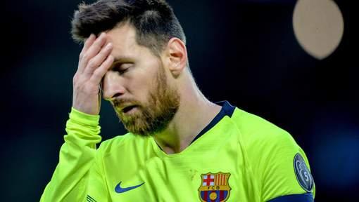 Après la défaite face à Liverpool,  Lionel Messi passe un sale quart d'heure*