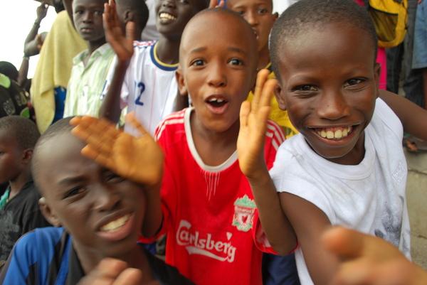 Au Sénégal, le foot qui passionne, c'est celui des quartiers