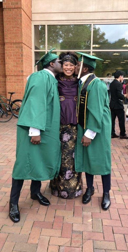 PHOTOS - Etats-Unis: Aïssata Tall Sall s'affiche toute heureuse avec ses jumeaux