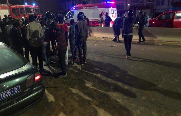 Grave accident:  Un camion tue quatre personnes à Poste Thiaroye