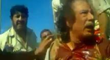 Kadhafi abattu par son garde du corps ?