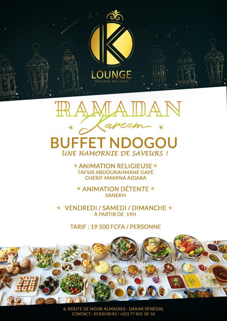 Ndogou Royal est aussi au Rendez Vous au K-Lounge Dakar