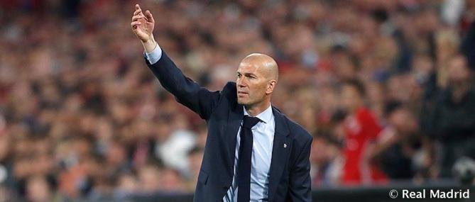 Real Madrid- Zinedine Zidane: « Je n'ai le pouvoir de rien. Ce qui est important, c'est de faire les choses ensemble »