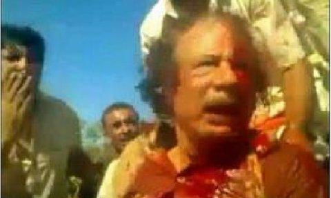 Le lynchage de Mouammar Kadhafi