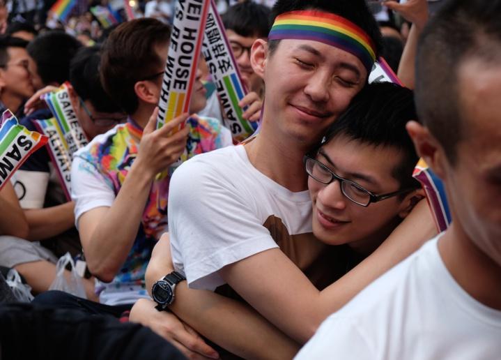 Légalisation du mariage gay à Taïwan