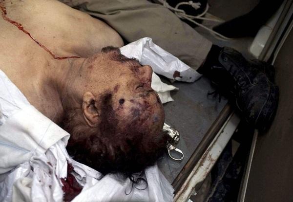 La dernière lettre d'El Kadhafi, rédigé 3 jours avant sa mort