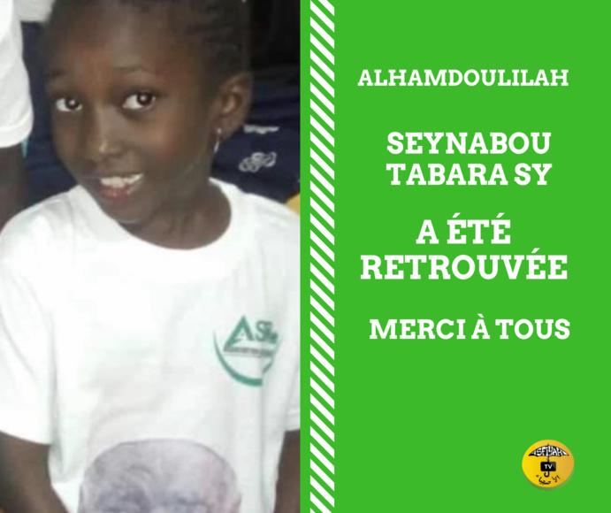 La petite-fille de feu Mame Abdou Aziz Sy Dabakh, finalement retrouvée.