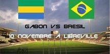 Le Brésil domine le Gabon