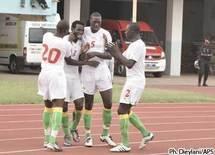 Les Lions mènent par trois buts à zéro devant la Guinée
