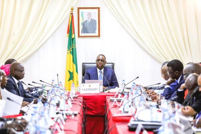 Conseil des ministres: Macky Sall se félicite de la réussite du lancement du Dialogue national