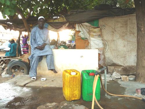 Pénurie d'eau au Sénégal