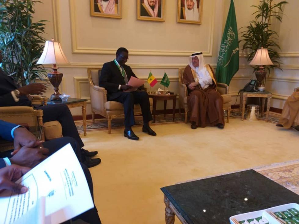 Le ministre des Affaires étrangères Amadou Ba a rencontré ses homologues de l'Arabie Saoudite, de l'Egypte et de la Turquie