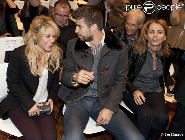 Shakira : Opération séduction avec la famille de son amoureux Gerard Piqué
