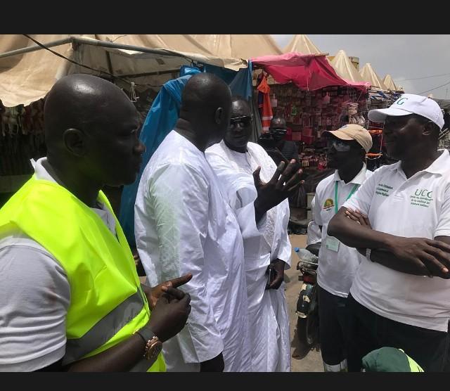 PHOTOS - Korité: Visite sur le terrain aux techniciens de surface par le Ministre Abdou Karim Fofana