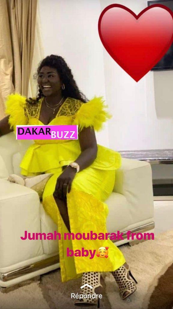 PHOTOS - Sagnsé de Korité: Tabara, l'épouse de Diafra Sakho dans toute sa beauté de femme fatale