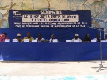 Présidentielle 2012: Rufisque impose sa vision aux candidats