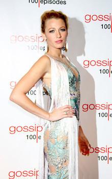 "Soiree ""Gossip Girl"" pour celebrer le 100eme episode de la serie. Blake lively"