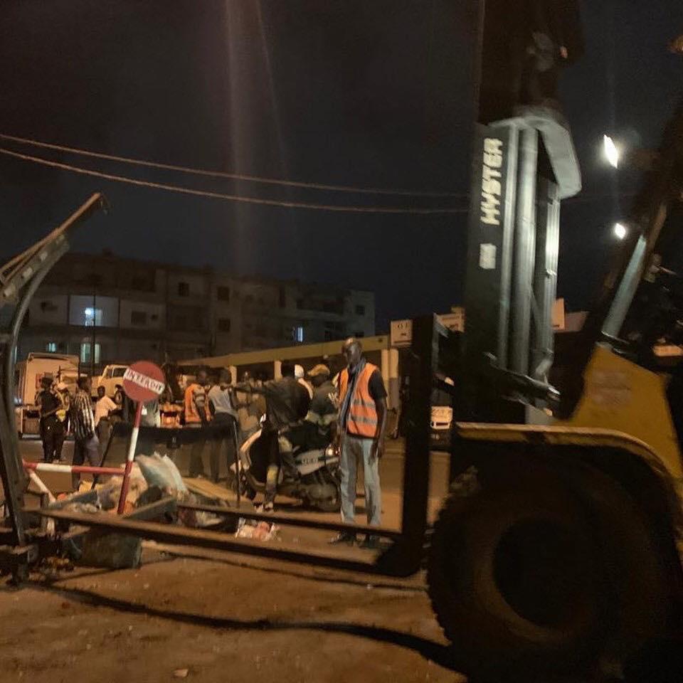 PHOTOS - Opération de désencombrement toujours en cours à Dakar