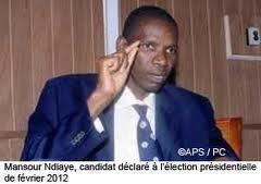 Accident du cortége du candidat Mansour Ndiaye