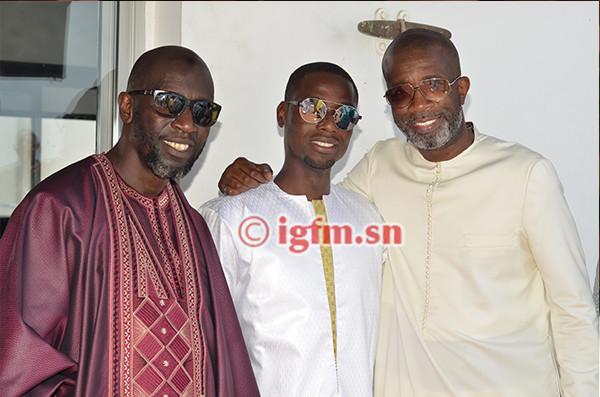 PHOTOS – Baptême de Prince Ndour, fils de Bouba Ndour