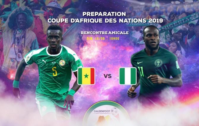 Amical Sénégal vs Nigéria : Les « Lions » gagnent sur le score de 1 but à 0