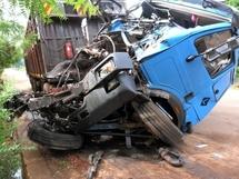 Accident sur la VND: Un camion heurte un homme et lui passe dessus