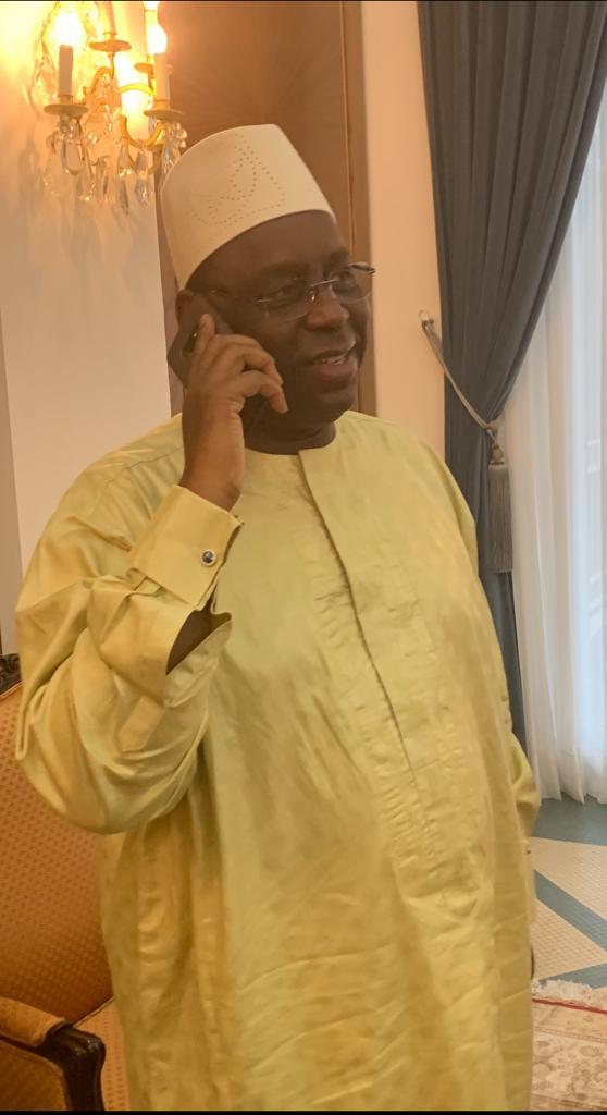 Le Président Macky Sall a appelé le coach en direct