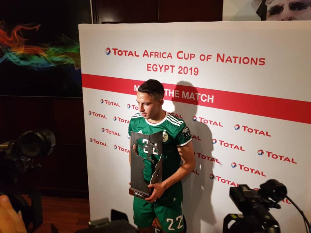 Sénégal - Algérie : Ismaël Bennacer, homme du match