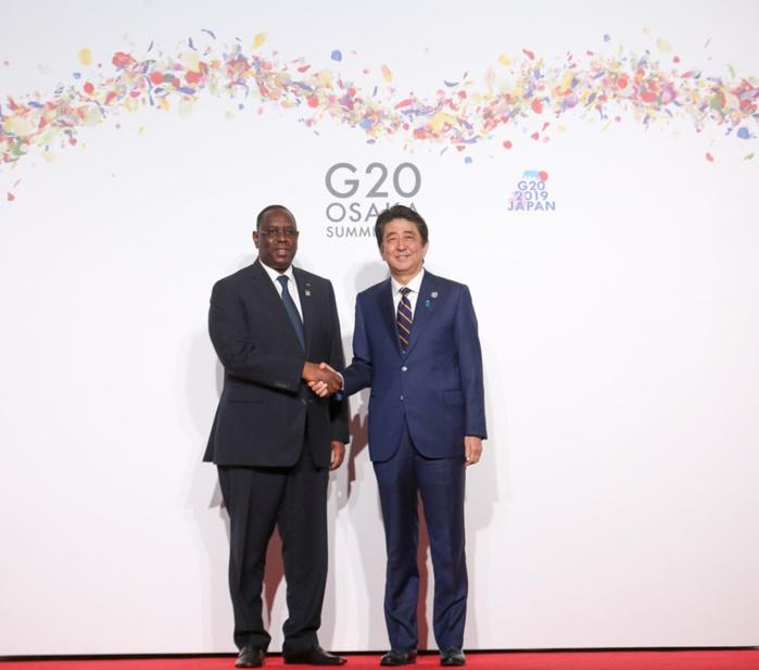 PHOTOS: Macky Sall entouré de Trump et Poutine au sommet du G20 à Osaka