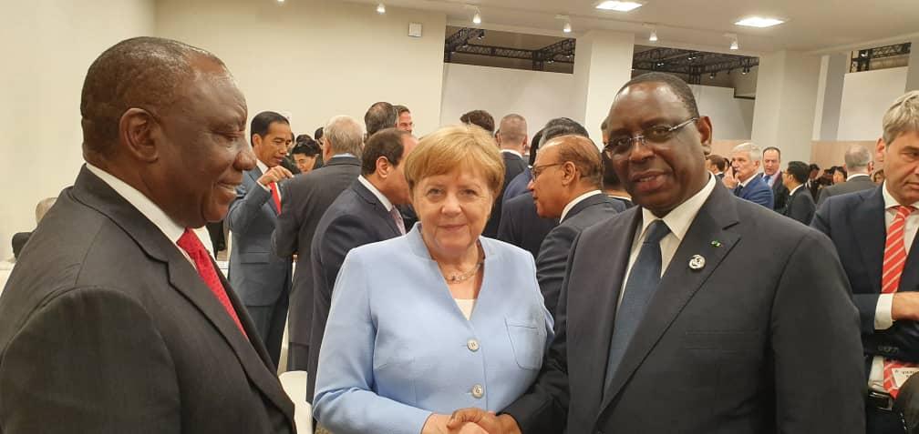 PHOTOS - Le Président Macky SALL au dîner officiel du G20 🇸🇳🇯🇵
