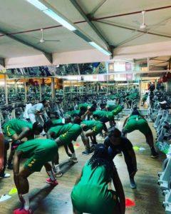 """PHOTOS - Afrobasket 2019: Les """"Lionnes"""" ont commencé la préparation aujourd'hui"""