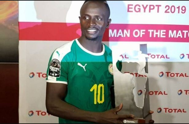 PHOTO- Sadio Mané élu homme du match face au Kenya