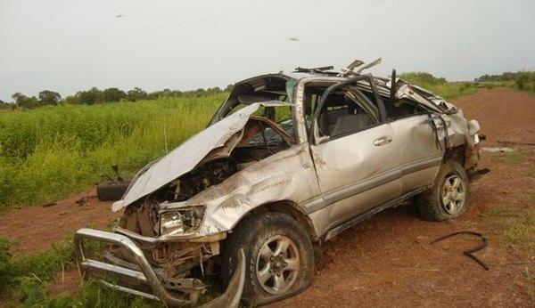 Accident : Doudou Pouye ''ivre''  ''salit'' son permis après 32 ans de vie de chauffeur