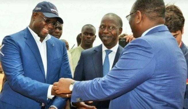 Macky Sall félicite son ministre de l'Energie et du Pétrole Makhtar Cissé :