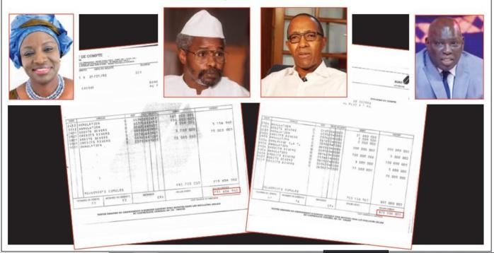 DOCUMENTS EXCLUSIFS: Qui a raison entre Mimi, Madiambal Diagne et Abdoul Mbaye qui évoquait «un compte» avec « 250 millions de FCfa» ?