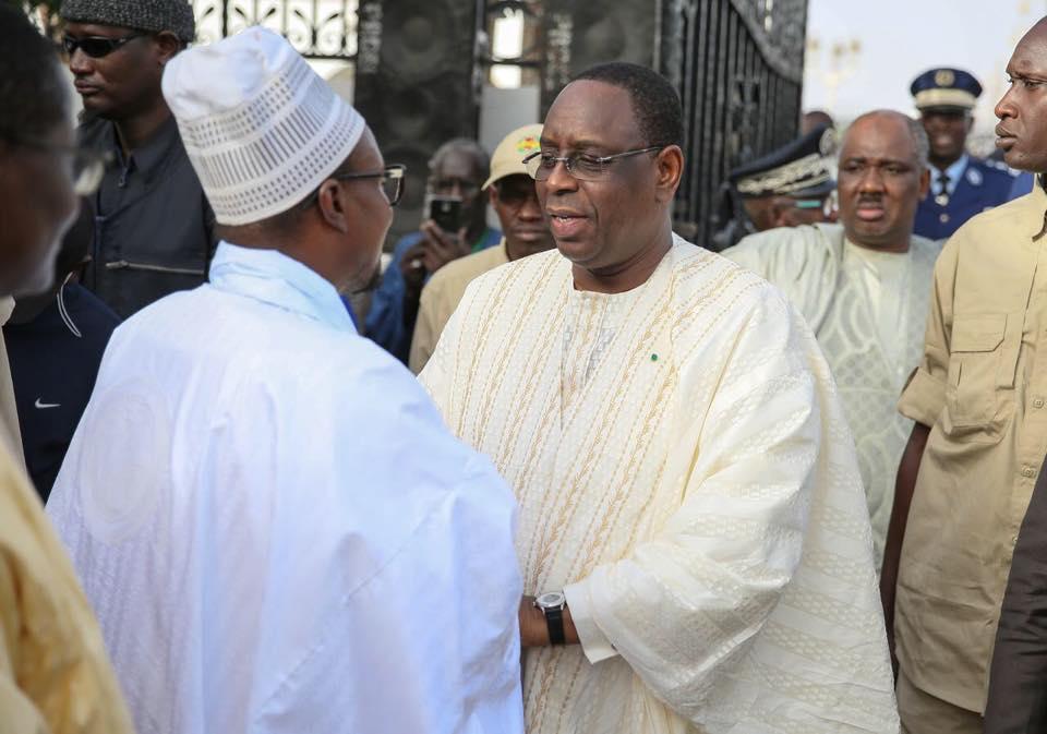 PHOTOS - Le Président Macky Sall à Touba: Revivez les temps forts en images