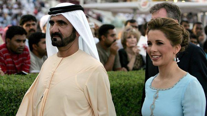 L'Emir de Dubaï en procès contre sa femme à Londres