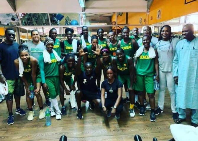 """Afrobasket: Les """"Lionnes"""" vont continuer leur préparation en Chine"""