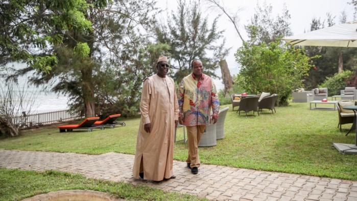 Le Président Macky SALL et Sa Majesté le Roi Mswati III à Popenguine