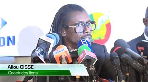 Aliou Cissé sur le penalty raté de Sadio Mané: « J'aurai une discussion avec lui… »