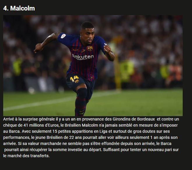 Les 5 joueurs dont le Barça doit absolument se débarrasser cet été