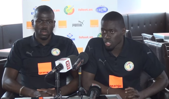 CAN 2019: Pape Alioune Ndiaye et Kalidou Koulibaly sous la menace d'une suspension