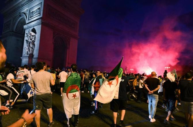 Victoire de l'Algérie à la CAN: plus de 70 interpellations après les heurts et les pillages en France